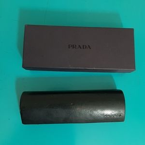 Prada eyewear/ eyeglasses case with box